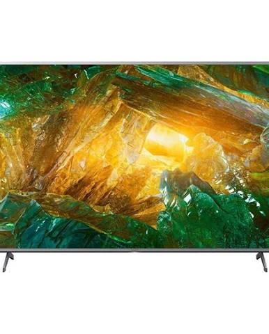 Televízor Sony KD-65XH8077 strieborn