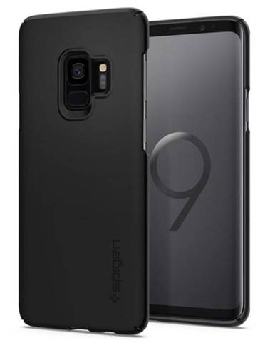 Kryt na mobil Spigen Thin Fit na Samsung Galaxy S9 čierny