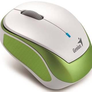 Myš  Genius Micro Traveler 9000R V3 biela/zelená / optická / 3