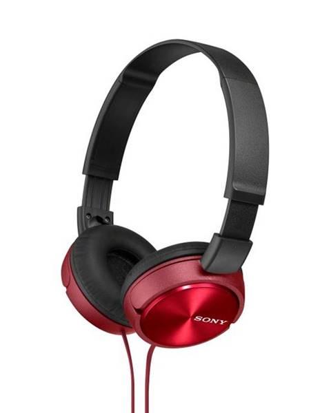 Sony Slúchadlá Sony Mdrzx310r.AE červená