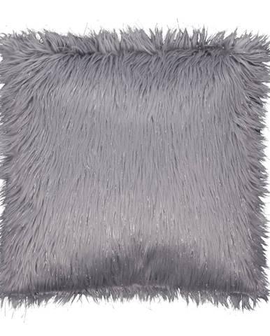 Vankúš sivá/strieborná 45x45 FOXA TYP 2