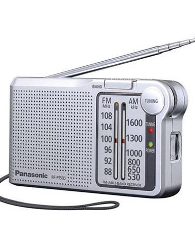 Rádioprijímač Panasonic RF-P150deg-S strieborn