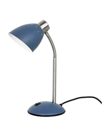 Modrá stolová lampa Leitmotiv Dorm