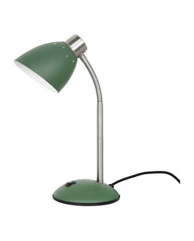 Zelená stolová lampa Leitmotiv Dorm