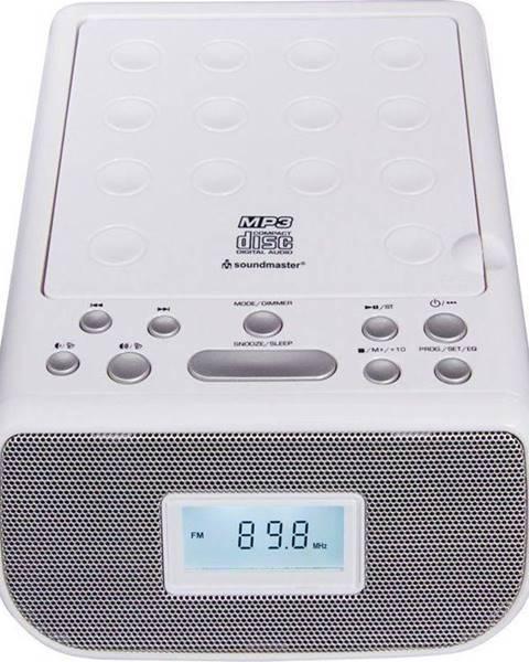 Soundmaster Rádiobudík Soundmaster Urd860we biely