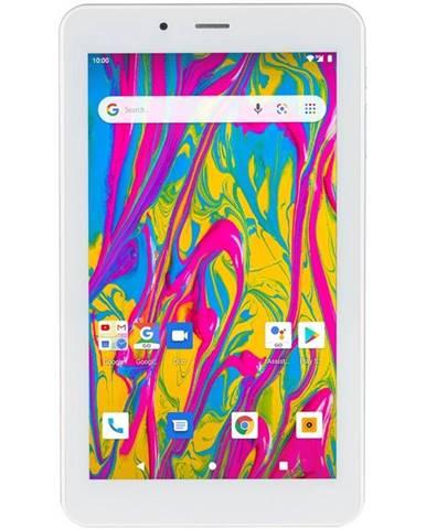 Tablet  Umax VisionBook T7 3G strieborný/biely