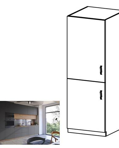 Potravinová skrinka dub artisan/sivý mat ľavá LANGEN D60R