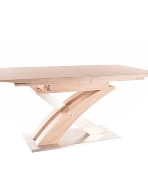 Kondela Jedálenský stôl dub sonoma BONET poškodený tovar