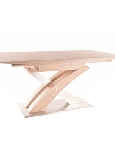 Jedálenský stôl dub sonoma BONET poškodený tovar