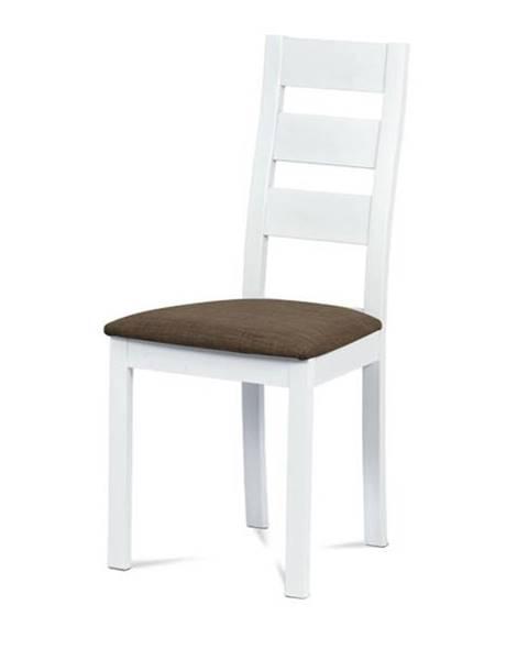 Sconto Jedálenská stolička DIANA biela/hnedá