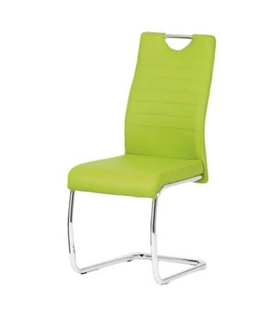 Jedálenská stolička BONNIE CAP zelená
