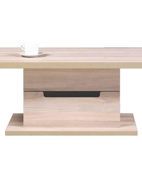 Sconto Konferenčný stolík ENIS DS9 brest/čierna