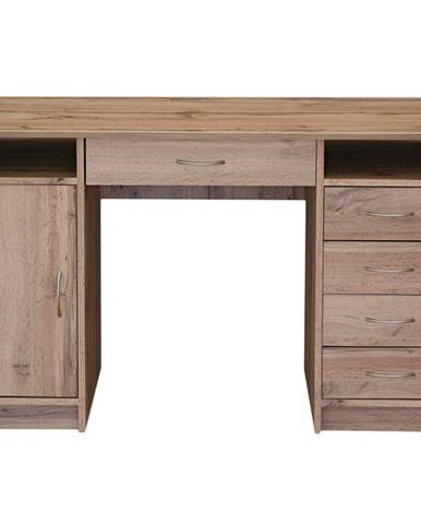 Písací stôl FILIP dub wotan