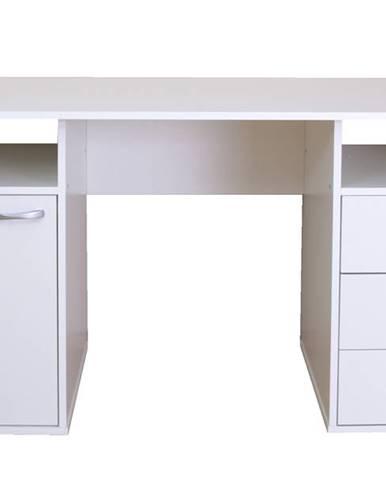 Písací stôl KUBA biela