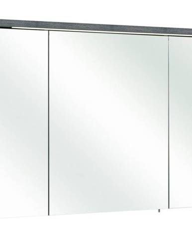 Zrkadlová skrinka ALICA grafit štruktúrovaný/zrkadlo