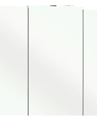 Zrkadlová skrinka LIVORNO II biela/sklo