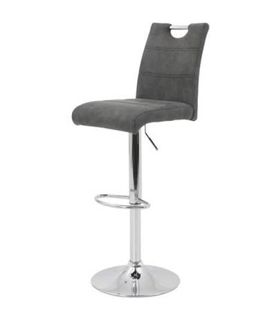 Barová stolička MIRANDA H antracitová