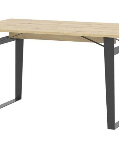 Jedálenský stôl SOFT LT16 dub artisan/čierna