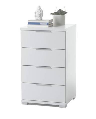 Nočný stolík KORON 4 biela
