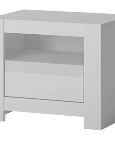 Nočný stolík NOVI biela