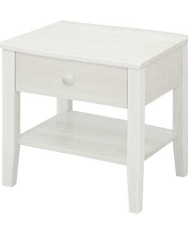 Nočný stolík TIMONA biela