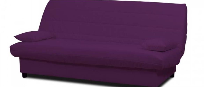 Rozkladacia pohovka Clic Clac fialová ÚP
